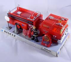 100 Fire Truck Accessories NewRay RESCUE The Power Series Plastic Man