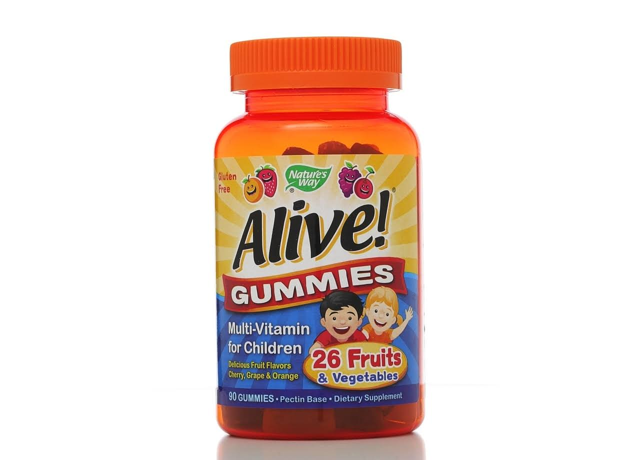 Nature's Way Alive Multi-Vitamin for Children - 90 Gummies