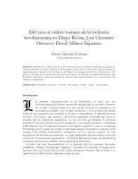 Jose Clemente Orozco Murales Y Su Significado by Del Caos Al Orden Visiones De La Violencia Revolucionaria En