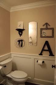 contemporary half bathroom decor on half bath decorating ideas for