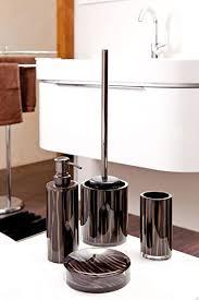 bad accessoires set 4 teilig schwarz gold b ware wc
