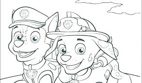 Paw Patrol Coloring Pages Also Colouring Printable Crayola Free Chase