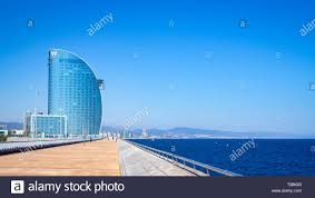 100 The W Barcelona BARCELONA SPAINMARCH 15 2019 Pedestrian Zone To The