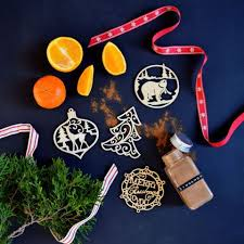 North Story Fragrant Wood Ornaments
