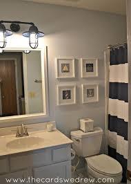 Camo Bathroom Decor Ideas by Best 25 Navy Blue Bathroom Decor Ideas On Pinterest Blue