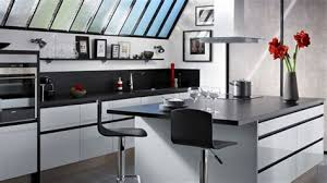 modele cuisine lapeyre modele cuisine noir et blanc 7 cuisine moderne 238lot type loft