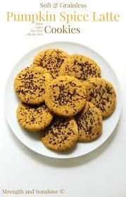 Nonfat Pumpkin Spice Latte Recipe by Soft U0026 Grainless Pumpkin Spice Latte Cookies