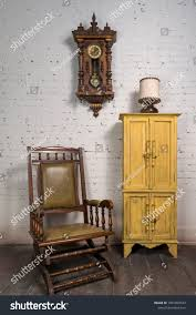 Composition Retro Wooden Rocking Chair Yellow Stock Photo ... Whosale Rocking Chairs Living Room Fniture Set Of 2 Wood Chair Porch Rocker Indoor Outdoor Hcom Traditional Slat For Patio White Modern Interesting Large With Cushion Festnight Stille Scdinavian Designs Lovely For Nursery Home Antique Box Tv In Living Room Of Wooden House With Rattan Rocking Wooden Chair Next To Table Interior Make Outside Ideas Regarding Deck Garden Backyard
