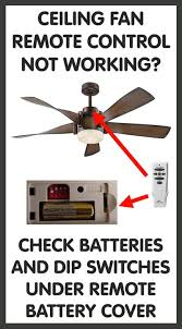 My Ceiling Fan Stopped Working by Ceiling Fan Remote Control Replacements Removeandreplace Com