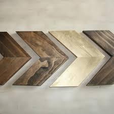 Wood Arrow Wall Art Chevron Home Decor