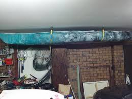 Kayak Ceiling Hoist Australia by Options For Storing Kayak In Garage Canoe Ceiling Hoist Lift System