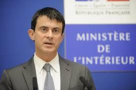 manuel valls ministre de l intérieur annonce le rétablissement