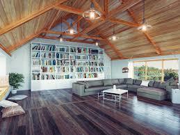 dachzimmer wohnidee dachzimmer als wohnzimmer bibliothek