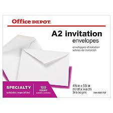 Invitation Envelopes at fice Depot