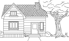 House Coloring Pages 6766