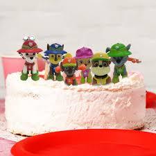 geburtstags liefert cupcake figuren wents paw patrol