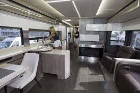 1 4 The Modern Design Of Interior Winnebagos Horizon RV Helped It Win Year Honors From RVBusiness Magazine