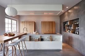 beton ciré cuisine cuisines en béton ciré contemporary kitchen grenoble by