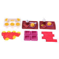 Amazoncom HOMES1 Kids Toys Pcs Tableware Kitchen Utensil Set For