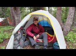 104 Studio Tent Sierra Designs 2 Youtube