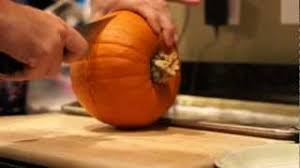 Best Way To Carve A Pumpkin Youtube by Real Pumpkin Pie Recipe Youtube