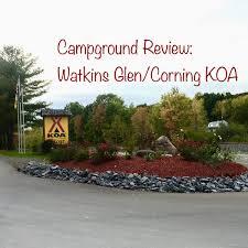 Campground Review Watkins GlenCorning KOA In The Finger Lakes