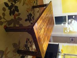 How To Build A Farmhouse Table | DIY Project-aholic Farmhouse Wooden Table Reclaimed Wood And Chairs Plans Round Coffee Height Cushions Bench Kitchen Room Rooms High Width Standard Depth 31 Awesome Ding Odworking Plans Ideas Diy Outdoor Free Crished Bliss Rogue Engineer Counter Farmhouse Ding Room Table Seats 12 With Farm With Dinner Leaf Style And Elegance Long Excellent Picture Of Small Decoration Ideas Diy Square 247iloveshoppginfo Old