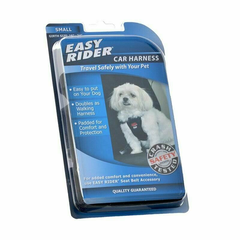 Coastal Pet Nylon Easy Rider Car Harness for Dogs - Small