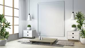 idee des japanischen wohnzimmers mit le rahmen