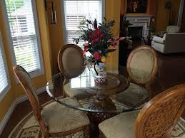 grand cayman round dining table havertys