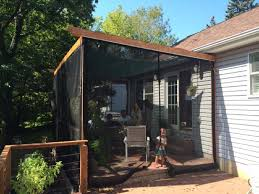 Mosquito Netting For Patio Umbrella Black by How To Screen A Porch Mosquito Net Gallery