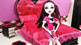 Monster High Bedroom Set by How To Make A Bed Inspired By Monster High U0027s Venus Mcflytrap