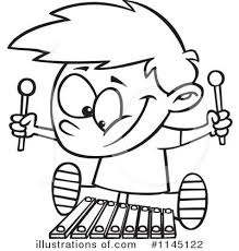 Royalty Free RF Xylophone Clipart Illustration 1145122 By Toonaday
