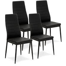 BestChoiceProducts: Best Choice Products Set Of 4 Modern High Back Faux  Leather Dining Chairs W/ Metal Frame | Rakuten.com 6x High Back Faux Leather Ding Chairs Metal In Ig1 Fulkram Chair Mesh Ashut Engineers Limited Calyx Easy Armchair 2 Pair Brown Padded Seat Chrome Steel Legs Carlisle Silver Ships Flat Vintage Office Chairsstools Oflynn Medical Greywash Garden Details About Set Of Back White Kitchen Caf Side Houseology Collection Marilyn Natural Linen Black High Ding Chairs Cremedelainecom Anita Rod Base By Metrica For Sp01