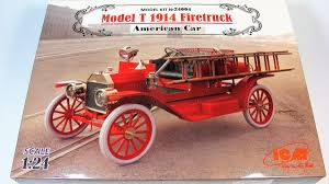 Ford T Firetruck - ICM | Car-model-kit.com