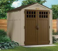 Suncast Vertical Storage Shed Home Depot by Suncast Shed Foundation Kit Garden Base Storage Cabinet