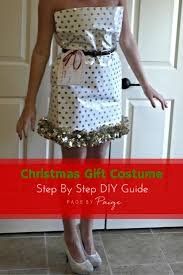 Donner And Blitzen Christmas Tree Instructions by Diy Christmas Present Costume Christmas Wrapping Wrapping