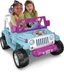 Radio El Patio Hn by Amazon Com Fisher Price Power Wheels Frozen Jeep Wrangler Toys