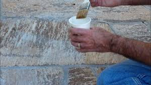 Restoring Color To Faded Tile Stone Brick Or Grout