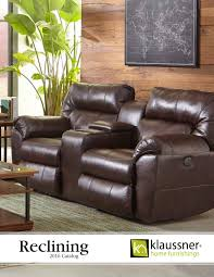 Flexsteel Power Reclining Sofa Julio by Reclining 2016 Catalog By Klaussner Home Furnishings Issuu