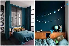 chambre bleu nuit déco chambre bleu canard 18 nimes 25091412 ronde surprenant