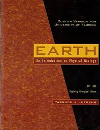 9780536345424 EARTH An Introduction To Physical Geology GLY 1000 Exploring Geological Science