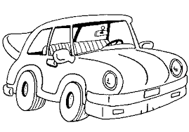 Car Coloring Pages 4