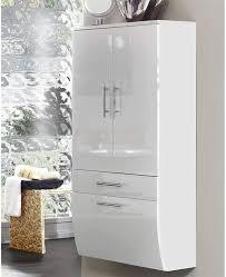 hochschrank 70 sanita hochglanz weiß weiß