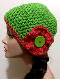 Crochet Flower Hat Spring Summer and Fall Hat $15 00 via Etsy