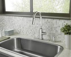 Moen Kitchen Sink Faucet Loose by Moen 87066 Chrome Pullout Spray High Arc Kitchen Faucet With Soap