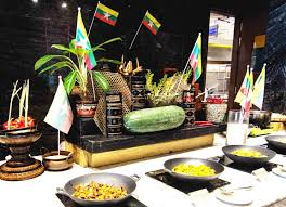 cuisine t sedona hotel s myanmar food festival spoils for choice the