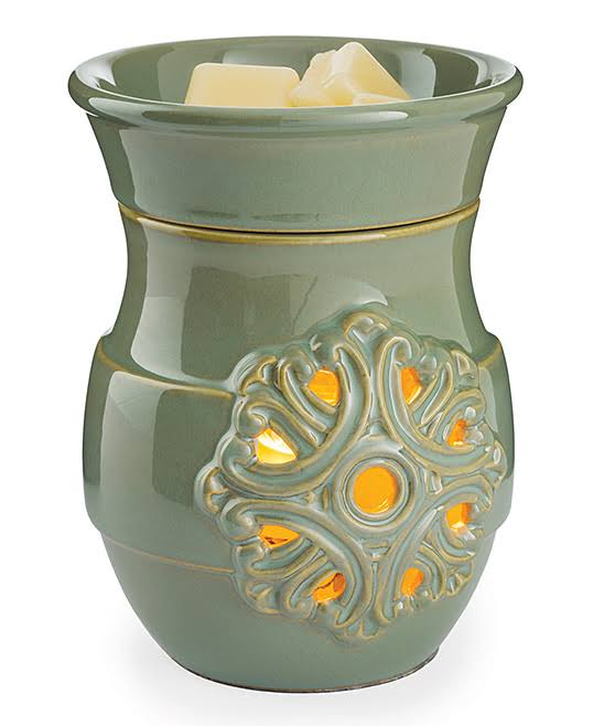 Candle Warmers Etc Medallion Illumination Fragrance Warmer