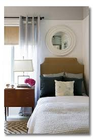A Room I Love Simple Bedroom Nook With Great Geometrics