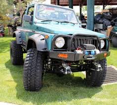 Suzuki Samurai Defiant Armor Modular Front Bumpers By Low Range Off-Road